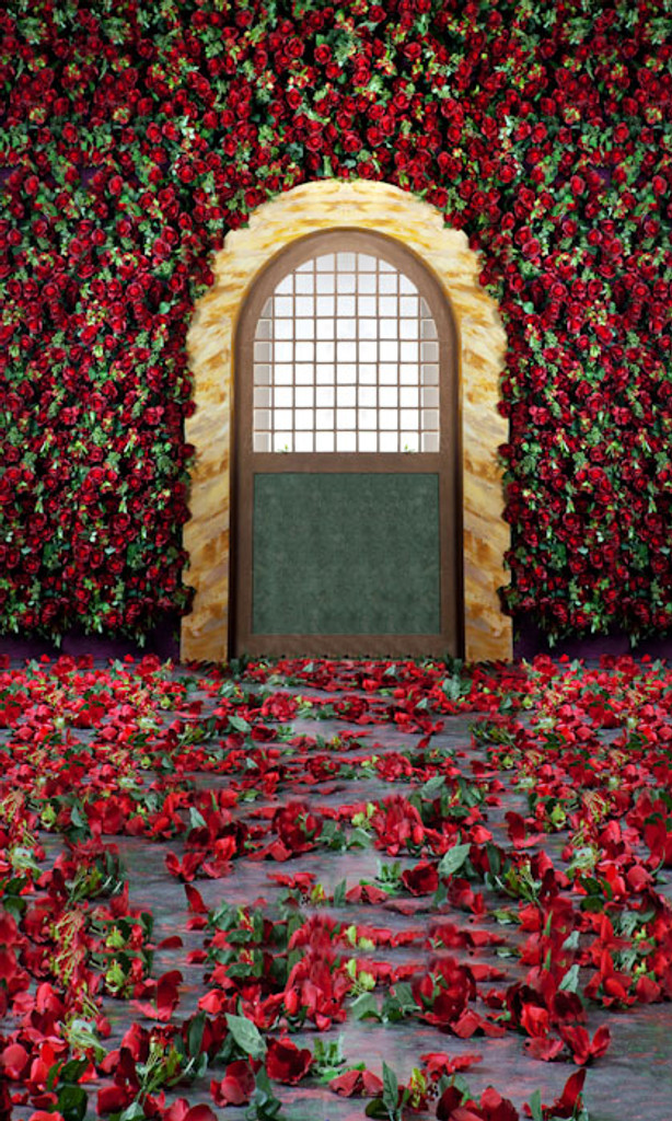 Covered In Roses Backdrop