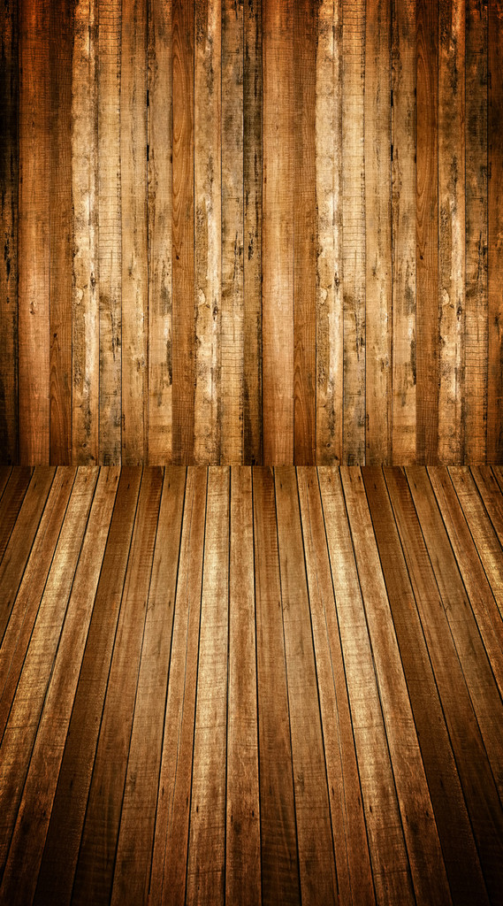 Split Plank Room Backdrop
