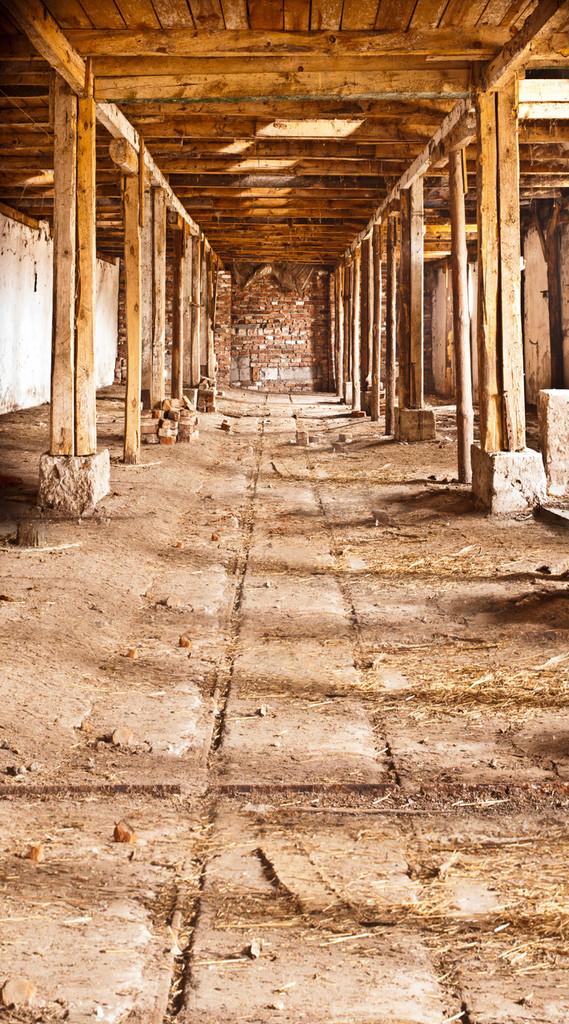 Vacant Barn Backdrop