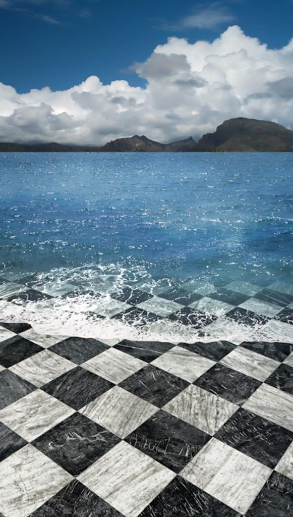 Beach Elegance Backdrop