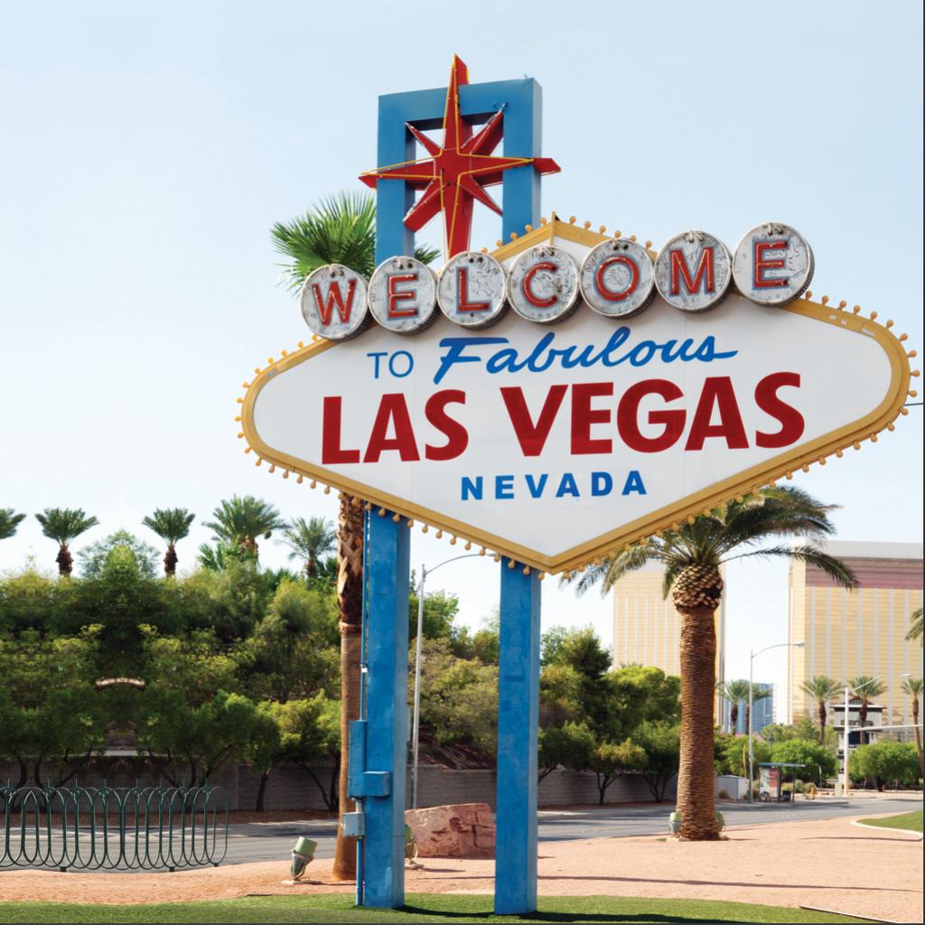 Fabulous Vegas Backdrop