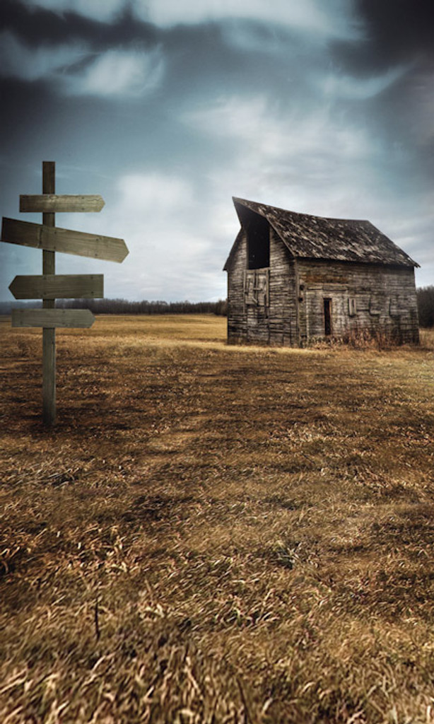 Rustic Barn Photography Backdrops