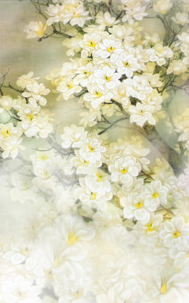 Delicate Spring Backdrop