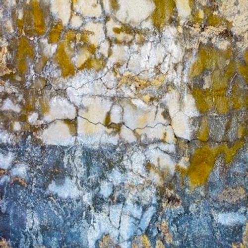 Blue Grunge Cement Floor