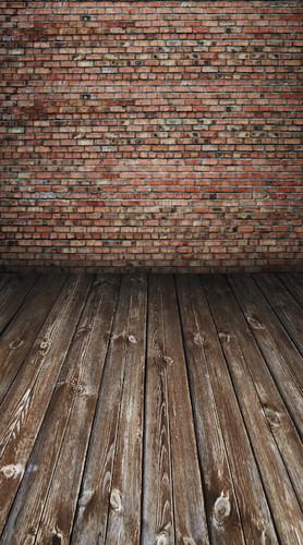 Rustic Brick Room Backdrop