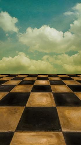 Checkered Sky Backdrop
