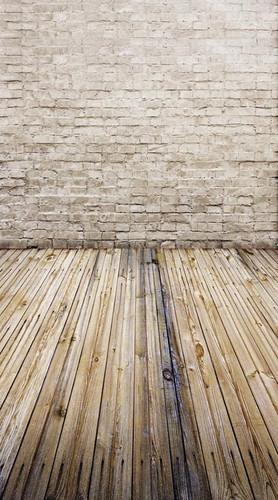 White Brick Flat Backdrop