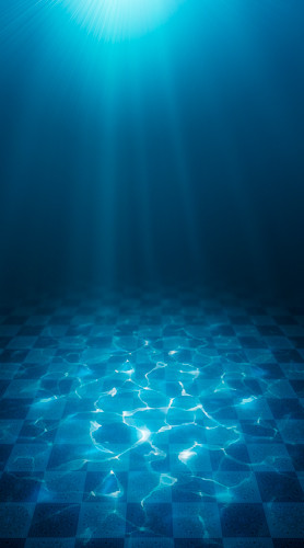 Ocean Tile Backdrop