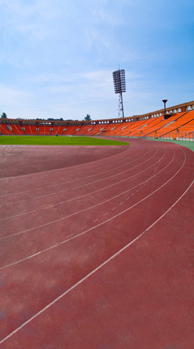 Track and Field Backdrop