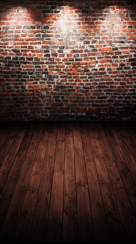 Brick Spotlight Backdrop