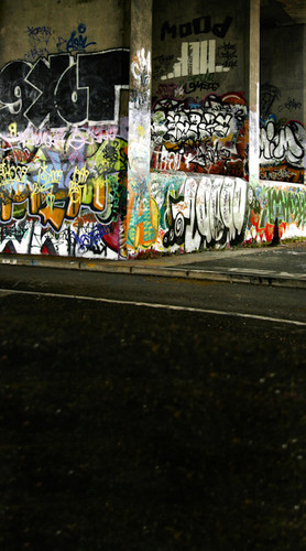 Graffiti Underpass Backdrop