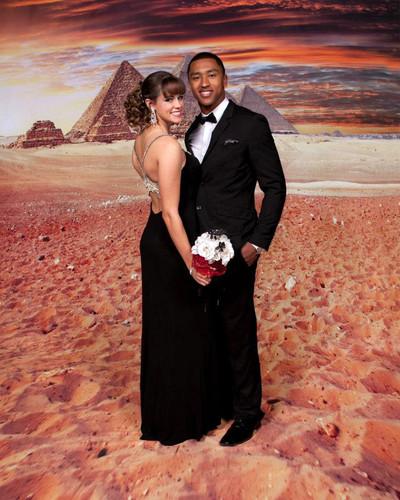 Egyptian Desert Backdrop