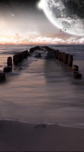 Seaside Mystique Backdrop