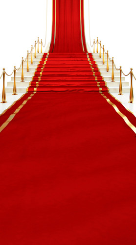 Red Carpet Stairway Backdrop