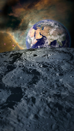 Moon View Backdrop