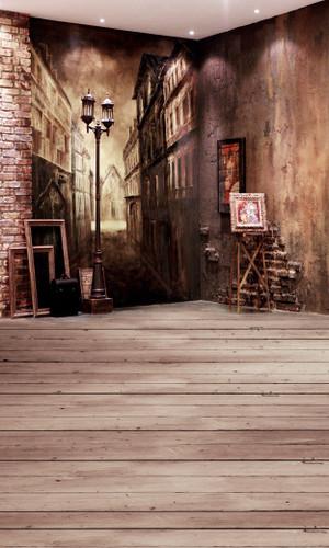 Decrepit Studio Backdrop