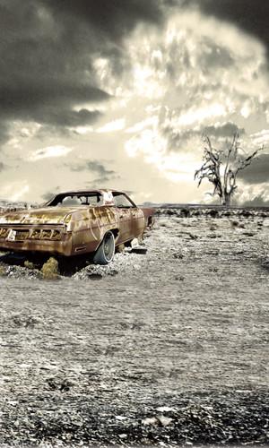 Nuclear Fallout Backdrop