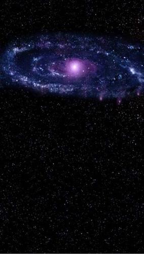 Indigo Galaxy Backdrop