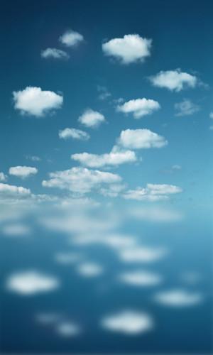 Cloud Reflection Backdrop