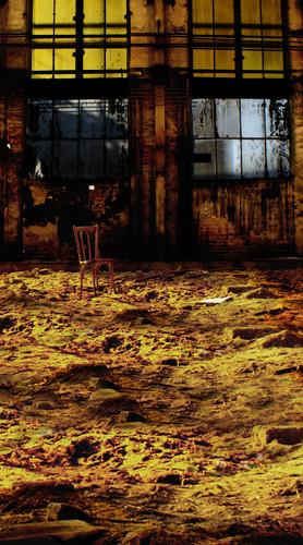 Abandoned Studio Backdrop