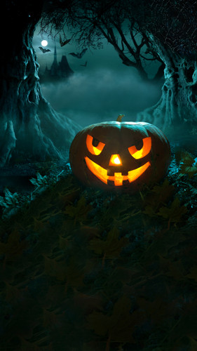 Spooky Jack Backdrop