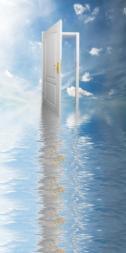 Serenity Doorway Backdrop