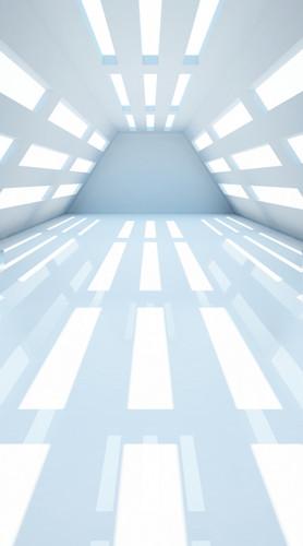 Futuristic Shiny Room Backdrop