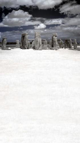 Ancient Ritual Backdrop