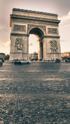 Arc de Triomphe Backdrop