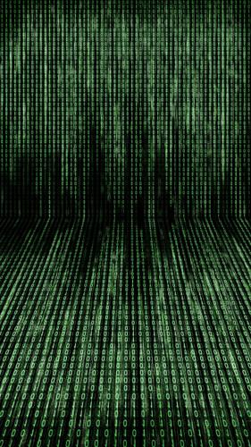 Binary Code Backdrop