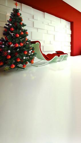 Modern Christmas Backdrop