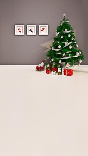Merry Little Christmas Backdrop