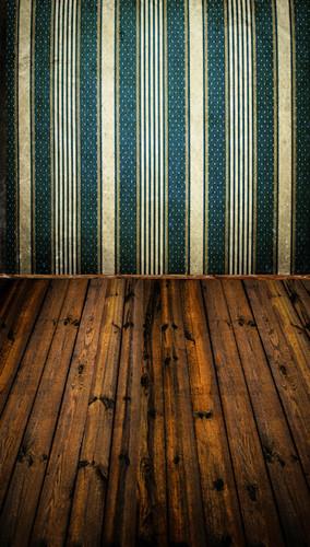 Vintage Papered Room Backdrop
