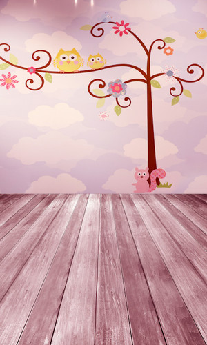 Woodland Friends Backdrop