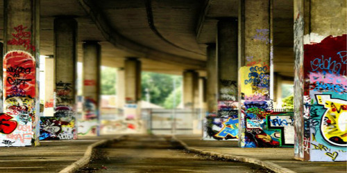 Graffiti Bridge Wide Format