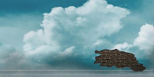 Cloud Wall Wide Format