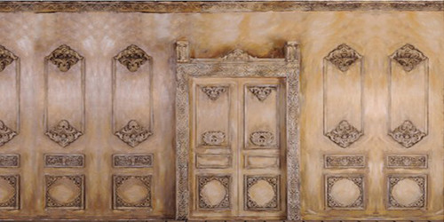 Bas-relief Wall Wide Format