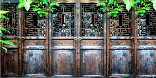 Asian Doors Wide Format