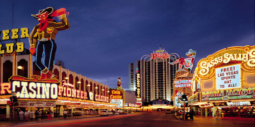 Retro Vegas Wide Format