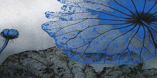 Blue Lotus Wide Format