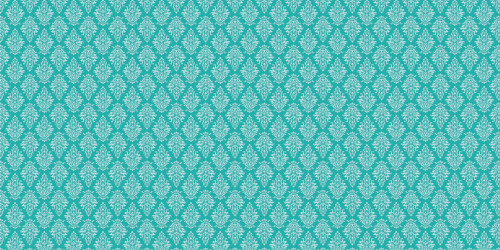 Argyle Damask (Aqua) Wide Format