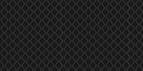 Argyle Damask (Black on Black) Wide Backdrop