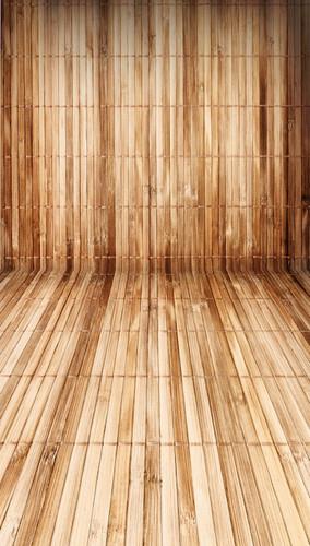 Bamboo Wood Planks Backdrop