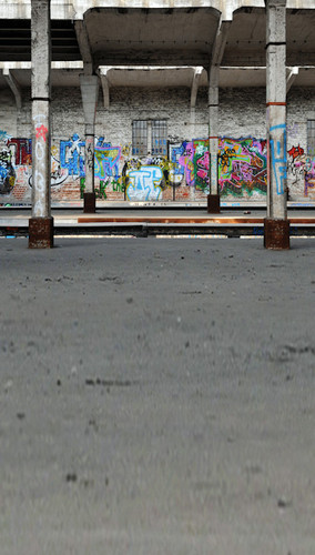 Graffiti Building Backdrop
