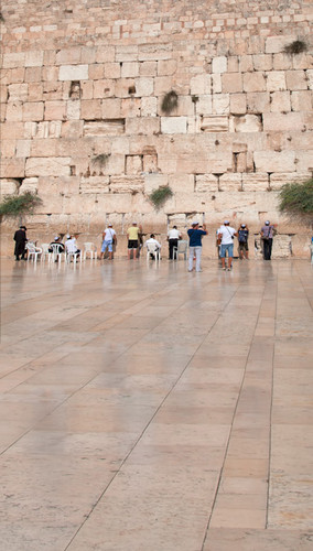 Western Wall of Jerusalem Backdrop