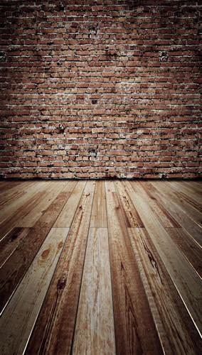 Weathered Brick Wall Backdrop