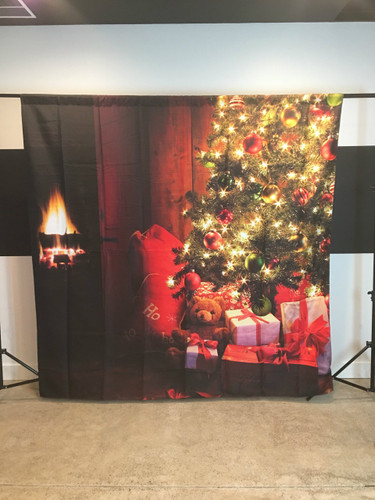 Cozy Christmas 8x8 PrismaCloth Backdrop