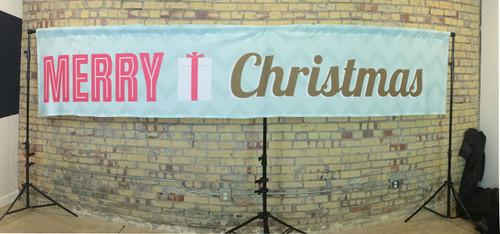 Christmas Banner 14x3 JerseyCloth Backdrop
