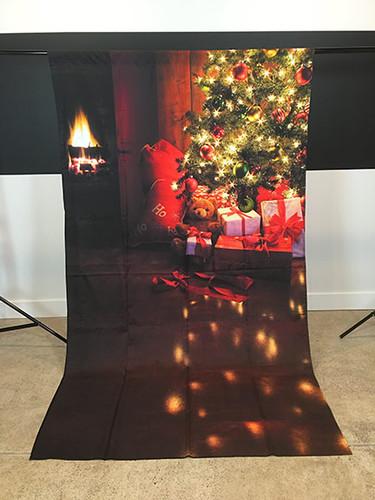 Cozy Christmas 5'x9' PrismaCloth Backdrop