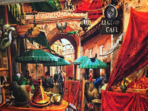 Mosaic Street 12x10 PrismaCloth Backdrop